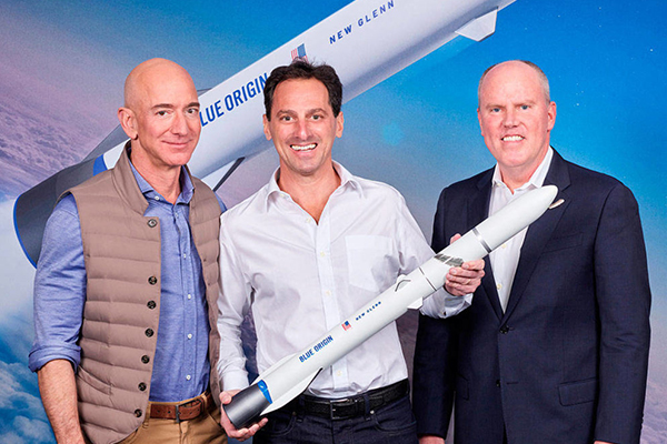 Kent's Blue Origin to launch Telesat's advanced global low earth orbit satellite constellation
