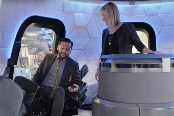 GeekWire article about Blue Origin and 'The Expanse' show